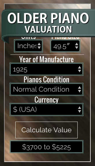 Older Piano Valuation